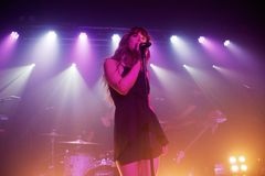 Foxes @ Oslo, Hackney 29.07.15 Stock Images