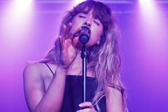 Foxes @ Oslo, Hackney 29.07.15 Royalty Free Stock Images