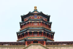 The foxiangge of Summer Palace Royalty Free Stock Photo