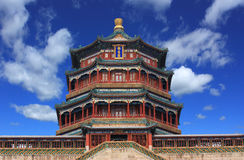 The foxiangge of Summer Palace Stock Photo