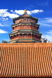 The foxiangge of Summer Palace Stock Photos