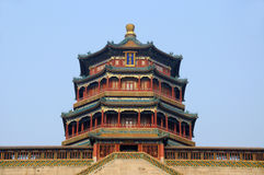 Foxiangge in Summer palace Stock Images