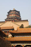 Foxiangge in Summer palace Stock Photo