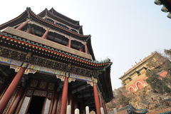 Foxiangge in Summer palace Royalty Free Stock Images