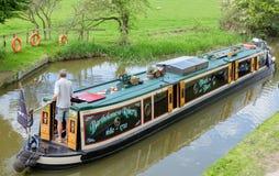Foxton lås på den storslagna fackliga kanalen, Leicestershire, UK Royaltyfri Bild