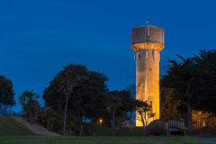 Foxton Old Water Tower. One of Foxton's main Icon landmark is this old water tower. It now get use for telecommunications Stock Image