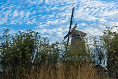 Foxton Windmill Royalty Free Stock Photography