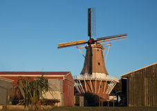 Foxton Windmill. Name De Molen is a authentic Dutch windmill Royalty Free Stock Photos