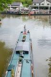 Foxtonsloten op het Grote Unie Kanaal, Leicestershire, het UK Stock Afbeelding