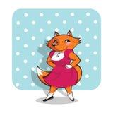Foxy_girl Royalty-vrije Stock Afbeeldingen