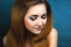 Foxy girl Royalty Free Stock Photography