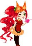 Foxy meisje Royalty-vrije Stock Foto