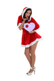 Foxy mother Christmas Stock Photo
