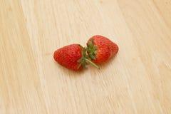 Foyer de fraise photo stock