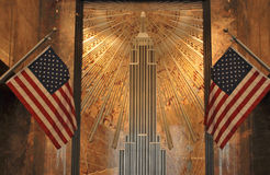 Foyer, Empire States building stock photos