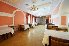 Foyer Lustrzana sala w centrala domu kultura Obrazy Royalty Free