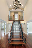 Foyer in new construction home Royalty Free Stock Image