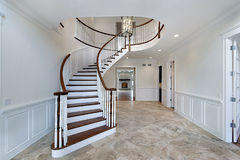 Foyer in new construction home Stock Photography
