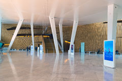 Foyer of the Oslo Opera House. Royalty Free Stock Photography