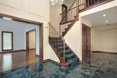 Foyer in suburban townhouse Royalty Free Stock Images