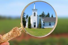 Foyer sur la religion Photos stock