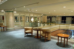 foyeru hotel Zdjęcie Stock