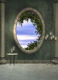 foyeru okno Fotografia Stock