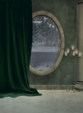 foyeru okno Obraz Royalty Free