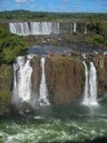 Foz κάνει τις πτώσεις Αργεντινή Βραζιλία Iguacu Στοκ Φωτογραφίες