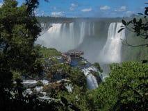 Foz κάνει τις πτώσεις Αργεντινή Βραζιλία Iguacu Στοκ Εικόνες