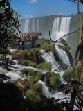 Foz κάνει τις πτώσεις Αργεντινή Βραζιλία Iguacu Στοκ εικόνα με δικαίωμα ελεύθερης χρήσης