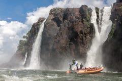 Foz κάνει Iguassu Αργεντινή Βραζιλία στοκ εικόνες