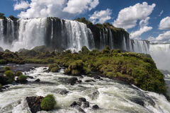 Foz делает падения Аргентину Бразилию Iguassu Стоковая Фотография RF