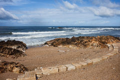 Foz Beach in Porto Stockfotografie