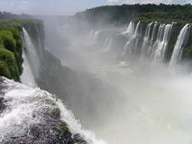 Foz de Iguasu Imagem de Stock