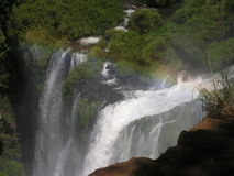 Foz de Iguasu. Waterfalls - view from the argentinian side Stock Photos