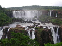 Foz de Iguazu Stockfotos