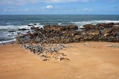 Foz do Douro Beach in Portugal Stock Photos