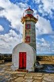 Foz do Douro lighthouse stock photo