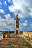 Foz do Douro lighthouse royalty free stock images