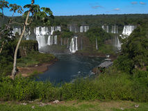 Foz do Iguacu Falls Argentina Brazil Royalty Free Stock Photos