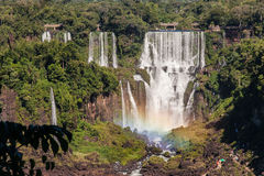 Foz do Iguacu Falls Argentina Brazil Royalty Free Stock Images