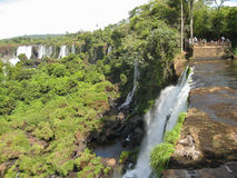 Foz do Iguacu Falls Argentina Brazil Royalty Free Stock Photography