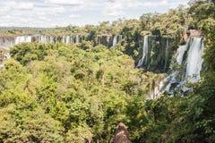 Foz do Iguacu Falls Argentina Brazil Stock Image