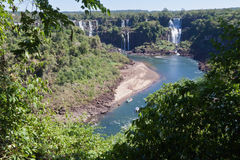 Foz do Iguassu Argentina Brazil Royalty Free Stock Photography