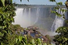 Foz do Iguassu Argentina Brazil Stock Photography