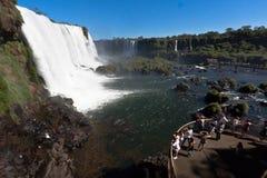 Foz do Iguassu Argentina Brazil Royalty Free Stock Photos