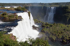 Foz do Iguassu Argentina Brazil Stock Images