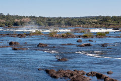 Foz do Iguassu Argentina Brazil Stock Photo