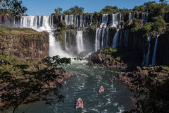 Foz do Iguassu Argentina Brazil Royalty Free Stock Photos